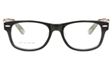 TDCQ F011 Acetate(ZYL) Unisex Full Rim Wayfarer Optical Glasses