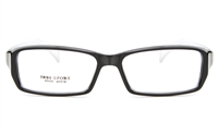 GLAM N9633 TR94 Unisex Full Rim Square Optical Glasses