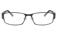ZOLO Z6617 Stainless Steel/TR90 Male Full Rim Square Optical Glasses