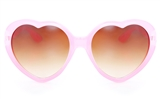 GENTRY 841 Plastic Child Full Rim Heart-Shaped Sunglasses