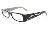 PRADA PR071 Stainless Steel/ZYL Full Rim Female Optical