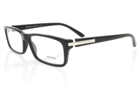 PRADA PR05N Stainless Steel/ZYL Full Rim Male Optical